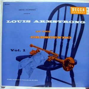 Louis Armstrong At The Crescendo Album