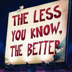 The Less You Know, the Better Album